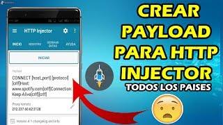 CREAR PAYLOAD CORRECTAMENTE PARA HTTP INJECTOR TODAS LAS COMPAÑÍAS | CUALQUIER PAÍS | JULIO 2017