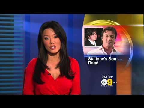 Sharon Tay 2012/07/13 KCAL9 HD; Red dress