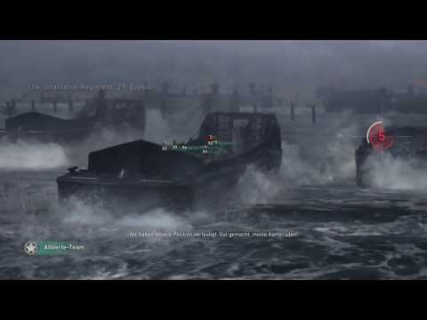 Call of Duty®  WWII  Gameplay #001 Krieg Neptune Playstation 4 PS4