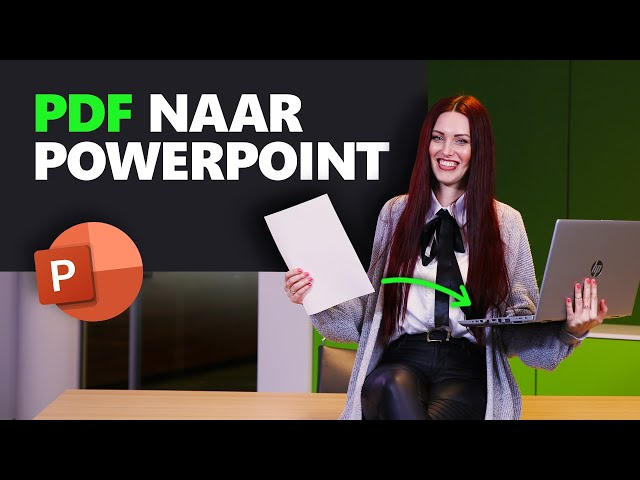PDF naar PowerPoint omzetten| PowerPoint basics | PPT Solutions