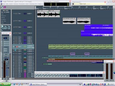 Emagic Logic Platinum 5 5 1 Youtube
