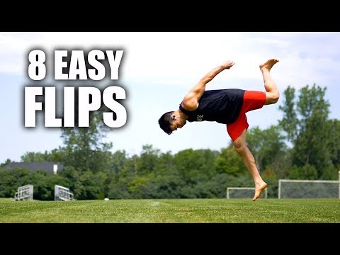 8 Flips Anyone Can Learn At Home - By Turning A CartWheel into The Flip
