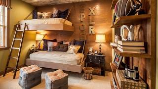 Best Rustic Kids' Bedrooms for a Cozy Night's Sleep – Photos, Ideas
