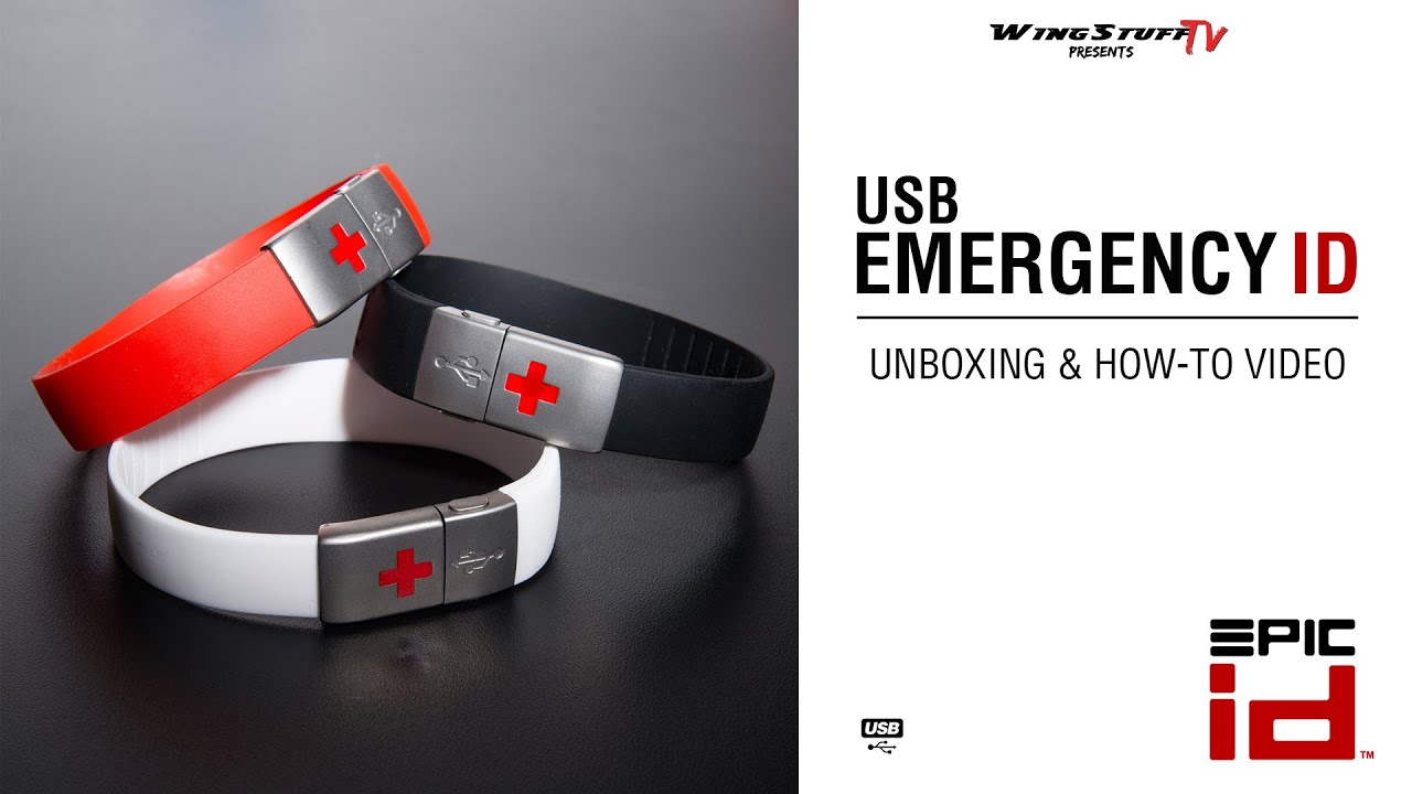 Epic ID | USB Emergency ID | Unboxing & How-To Video ...
