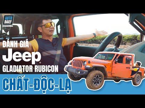 Đánh giá Jeep Gladiator Rubicon - Bóc tách CHẤT của một chiếc bán tải độc lạ |Autodaily.vn|