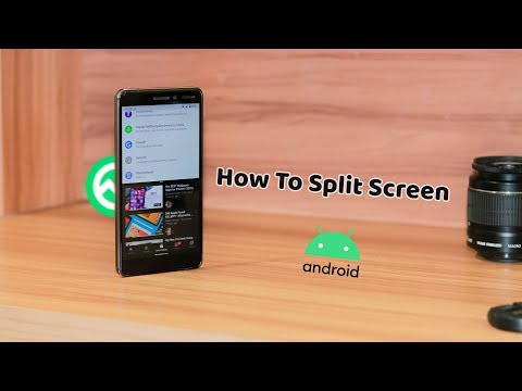 ✌️How To Use Split Screen On Android 10