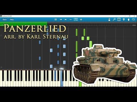 Panzerlied (piano Arr. By Karl Sternau) W/ Sheet Music