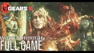 GEARS 5 Gameplay Walkthroug Part 1 FULL GAME - No Commentary (Gears of War 5 Full Game) #Gears5