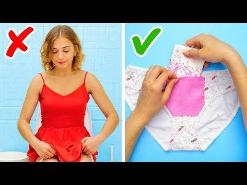 ٢١ فكرة تحتاجين إليها أثناء فترة الدورة الشهرية