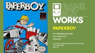 Paperboy retrospective: Dangerous career path | Game Boy Works #067
