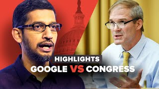 Everything Google CEO Sundar Pichai just said to Congress in 16 minutes