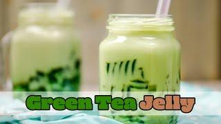 Matcha Green Tea Jelly Drink
