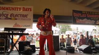 Andy Svrcek (Elvis) - If I Can Dream - Coplay, PA - August 30, 2015