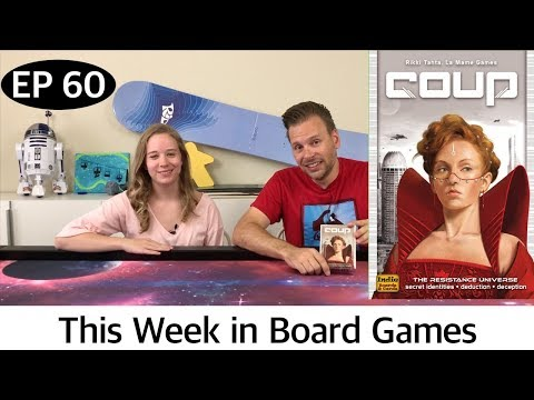 Coup Review - Ep 60: This Week in Board Games
