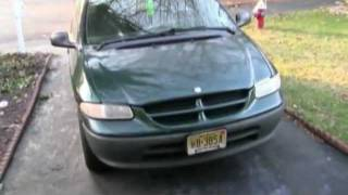 How to change the radiator for a 1998 Dodge caravan