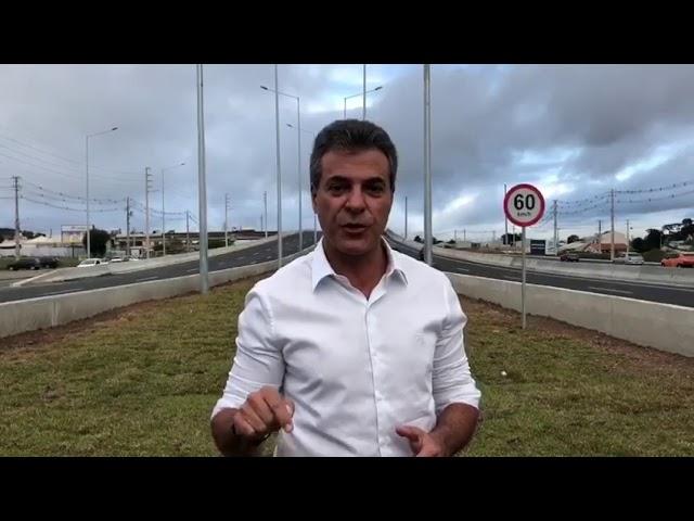 Obras de duplicação da Rodovia João Leopoldo Jacomel