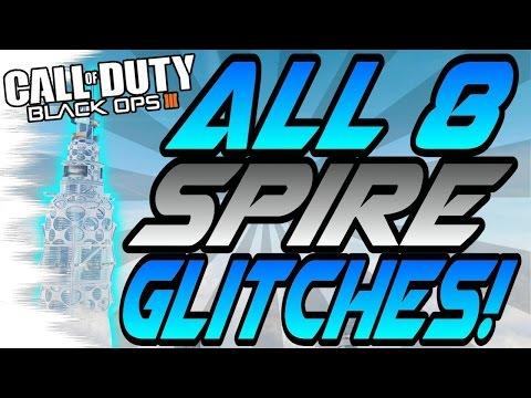 *NEW* ALL 8 SPIRE Glitches! - Wallbreaches, High Ledges (BO3 Eclipse DLC Glitch)