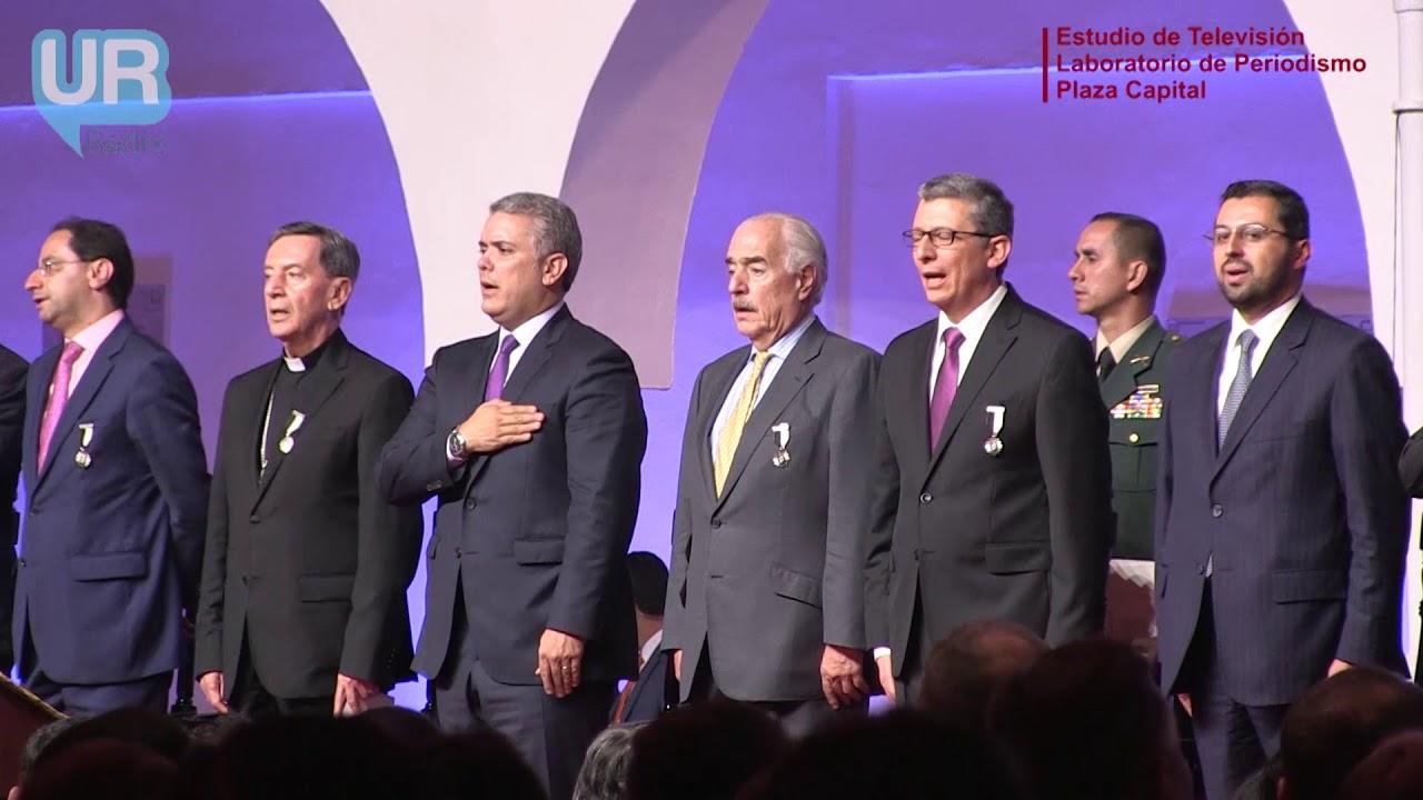 Se posesionó el nuevo rector de URosario, Jose Alejandro Chayne