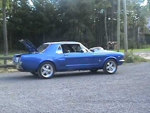 mustang 1966 supercharged a vendre 5 5 for sale youtube. Black Bedroom Furniture Sets. Home Design Ideas