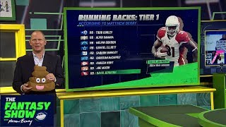 Berry: David Johnson has been a 'huge disappointment' this season | The Fantasy Show | ESPN