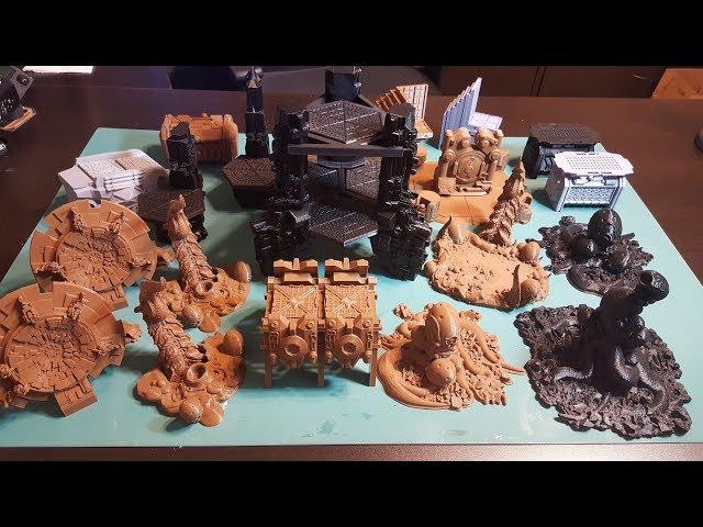 Kickstarter Showcase:  Worlds Over Run - 3d Printed Table Top Terrain