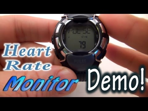 Heart Rate Pulse Monitor Calorie Counting Alarm Watch