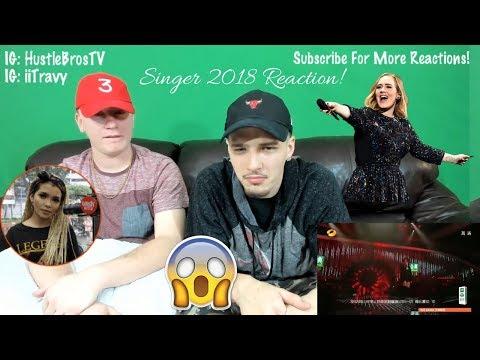 "KZ Tandingan 《Rolling in the Deep》 ""Singer 2018"" Episode 5"" REACTION"