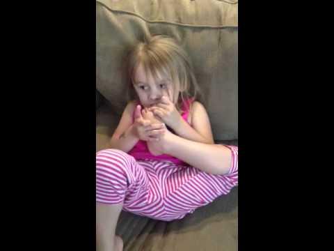 girls chews toenails   youtube