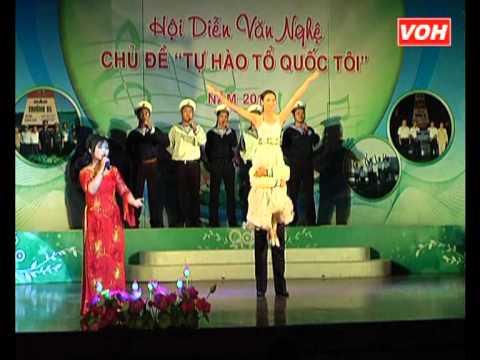 LOI GIOI THIEU & NOI DAO XA   THE SONG   HOANG OANH & Top Nam be & top mua phu hoa VOH