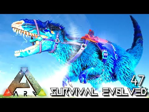 ARK: SURVIVAL EVOLVED - CELESTIAL YUTYRANNUS CRAZY POWERFUL !!! | PRIMAL FEAR ISO CRYSTAL ISLES E47 thumbnail