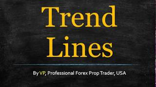 Forex Trend Lines Are A Bad Idea Always