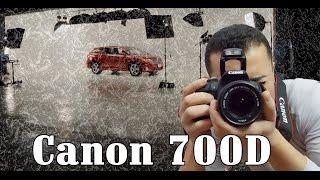 فتح الصندوق لكاميرا كانون 700 دي   Canon 700D unboxing