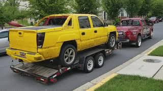 2002 Chevy Avalanche going for a MAKEOVER/ Johns Restoration