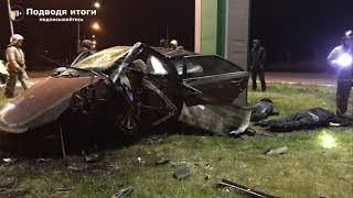 Фото 20.10.2020г - в Прокопьевске Кемеровской области лишенный водитель врезался в бетонный бордюр