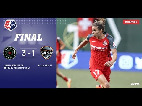 Highlights: Portland Thorns FC vs. Houston Dash | July 15, 2018