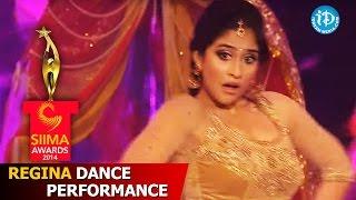 SIIMA 2014 Tamil - Regina Cassandra Dance Performance | A.R. Rahman Songs