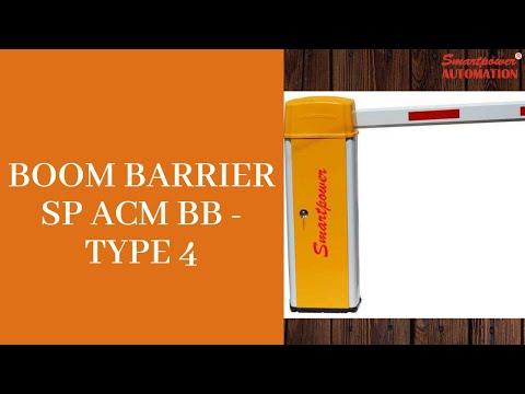 Boom Barrier SP ACM BB - Type 4