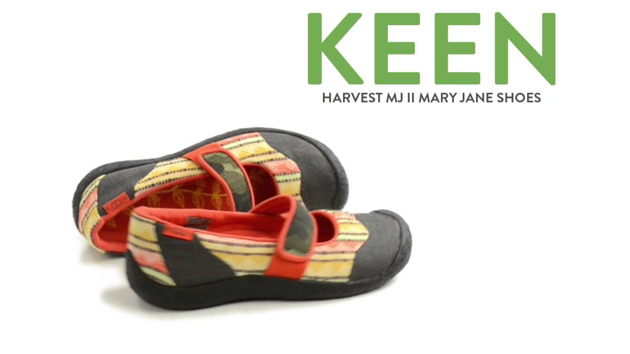 ee1673d2c80a Keen Harvest MJ II Mary Jane Shoes - Canvas (For Women) - YouTube