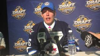Winnipeg Jets Patrik Laine speaks following selection
