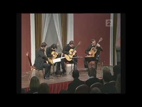 Baltic Guitar Quartet - Manuel De Falla - Danza del Terror