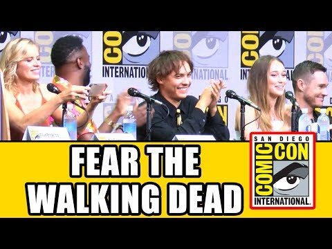 FEAR THE WALKING DEAD Comic Con 2017 Panel - Season 3, News & Highlights
