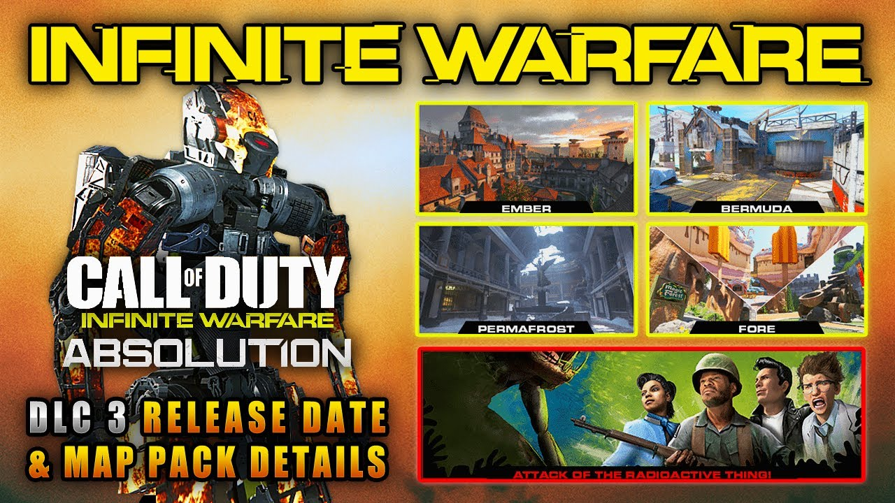 IW ABSOLUTION DLC PACK #3 Release Date & Details! RESISTANCE Remake on