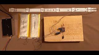 Простой повышающий (Li-Ion 3,7 V to 38V) DC-DC  LED драйвер на одном транзисторе. Часть 1.