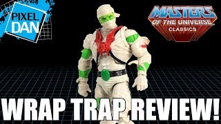 Wrap Trap Horde Mummy Masters of the Universe Classics Figure Video Review
