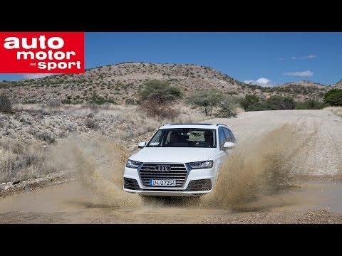 Audi Q7 - Abnahmefahrt in Namibia