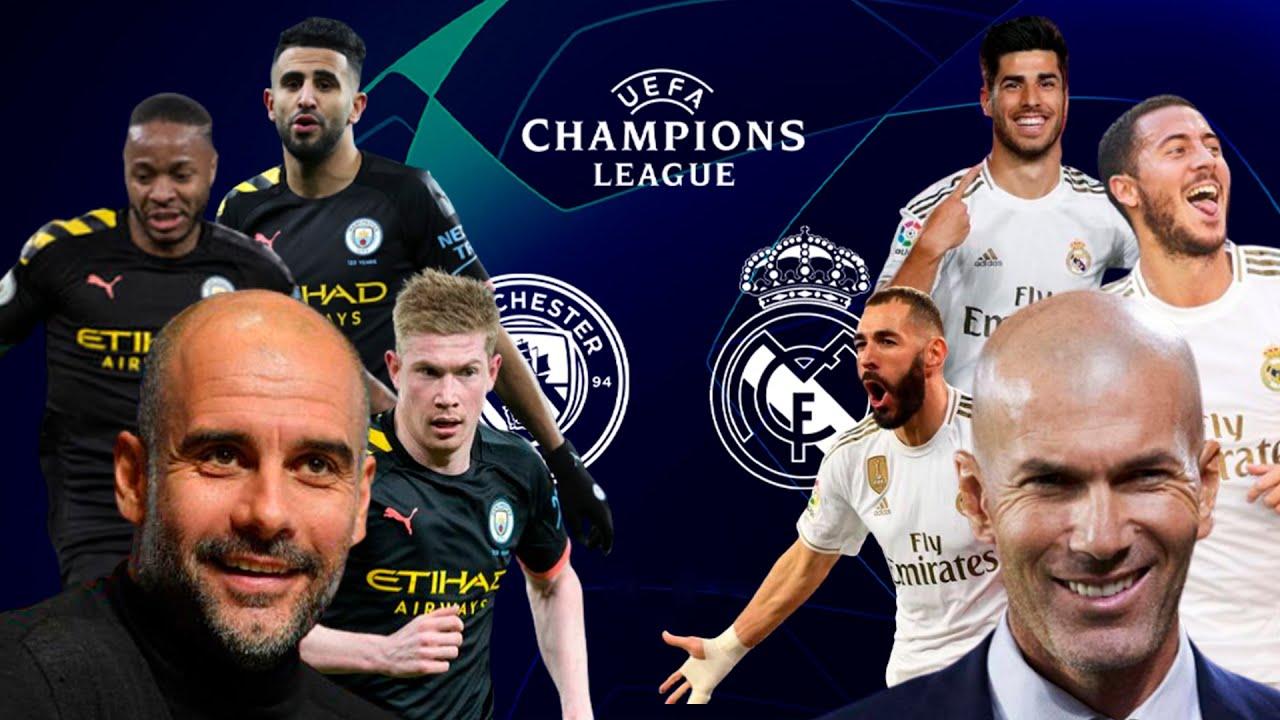 Manchester city vs Real madrid o'yin oldidan