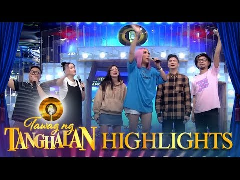 """The """"It's Showtime"""" family and the madlang people sing """"Ate Vice"""" 