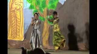 Tamil Folk Dance Pushpavanam Kuppusamy -PONGAL 2012, Pune