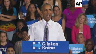 Obama: Trump 'Dangerous' Sowing Seeds of Doubt