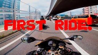 CBR1000RR First Ride! Japan motovlog 10 (Part 1)